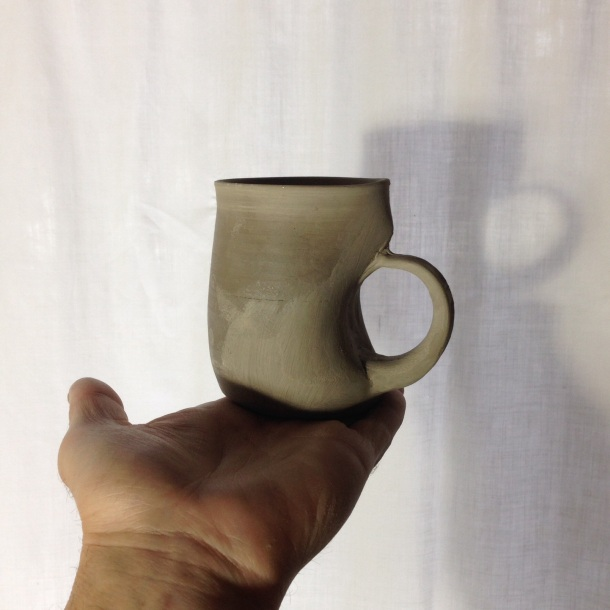 First darted mug