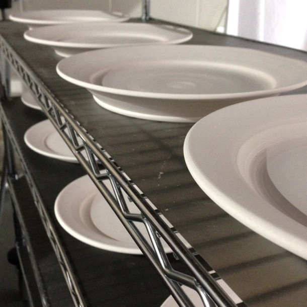 bisqued plates