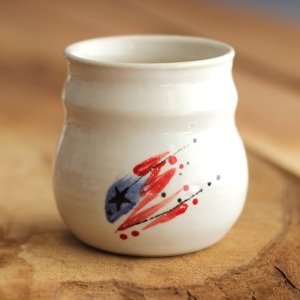 a stout, little sippy cup
