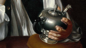 Copley's teapot close-up