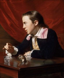 My favorite Copley, painted when he was on 27 years old of his half-brother: A Boy with a Flying Squirrel