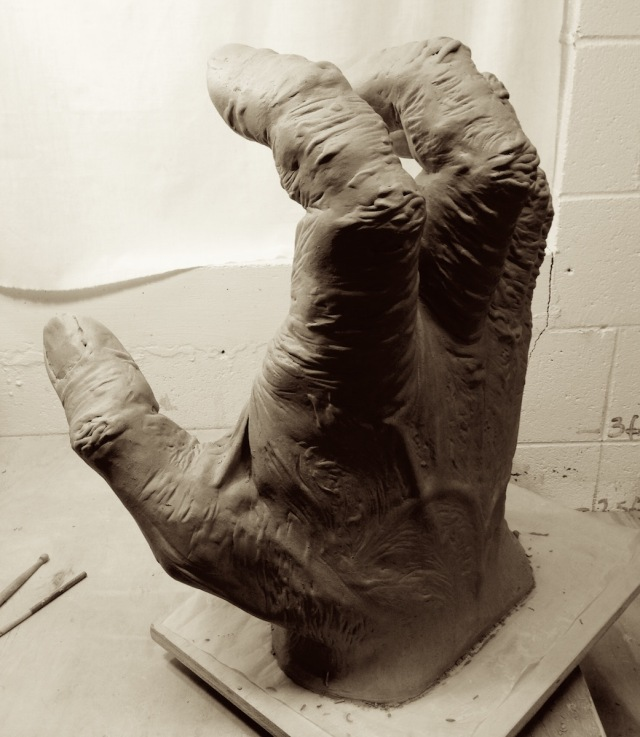 The third hand, nearly complete